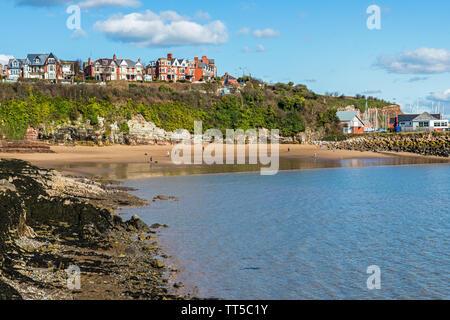 Barry Island Beaches on the south Wales coast - Stock Photo