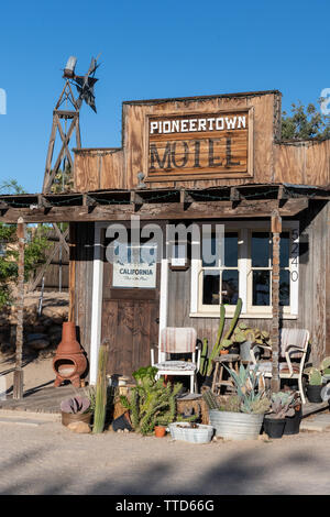 Pioneertown in Southern California, USA - Stock Photo