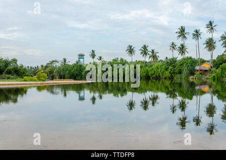 A Beach in Tangalle, Sri Lanka - Stock Photo