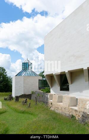 MUDAM Museum of Modern Art at Drai Eechelen - Stock Photo