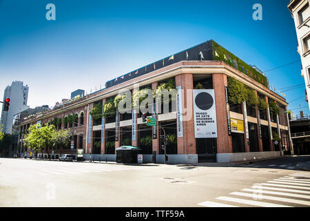 Buenos Aires Argentina - Dec 25, 2018: Museum of Modern Art at San Telmo district in Buenos Aires city, Argentina - Stock Photo
