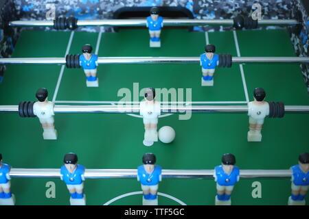 Table football, foosball, table - Stock Photo