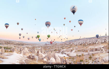kappadokia hot air ballons - Stock Photo