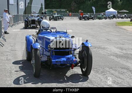 Riley Special (1933), Double Twelve Motorsport Festival 2019, Brooklands Museum, Weybridge, Surrey, England, Great Britain, UK, Europe - Stock Photo