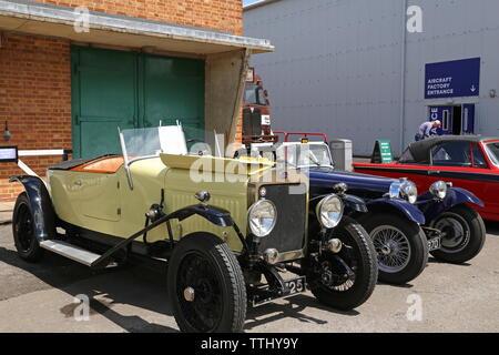 Delage DI (1923), Double Twelve Motorsport Festival 2019, Brooklands Museum, Weybridge, Surrey, England, Great Britain, UK, Europe - Stock Photo