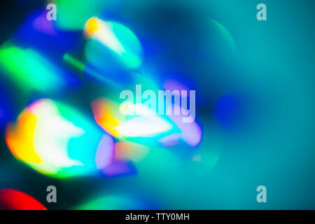 Abstract trendy holographic blurred background. - Stock Photo