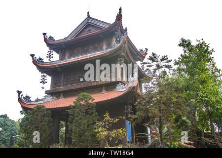Pho Chieu Pagoda in Hai Phong, Vietnam - Stock Photo