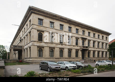 Former administration building of the National Socialist German Workers' Party (Verwaltungsbau der NSDAP) designed by German architect Paul Ludwig Troost and built in 1933-1937, now the House of Cultural Institutions (Haus der Kulturinstitute) in Munich, Bavaria, Germany. - Stock Photo