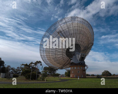 CSIRO Radio Telescope at Parkes, New South Wales, Australia popular tourist travel destination. - Stock Photo