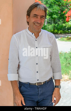 Helmy Abouleish, President Demeter International, Heliopolis, Egypt - Stock Photo