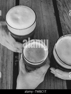 summer days, holiday, cheers - Stock Photo