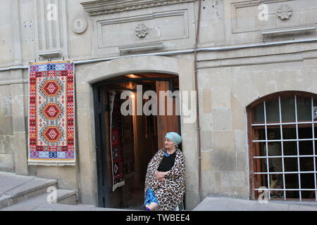 Old Baku in Baku - Icherisheher - Stock Photo