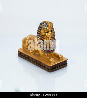 Pharaoh is the common title of the monarchs of ancient Egypt from the First Dynasty until the annexation of Egypt by the Roman Empire in 30 BCE althou - Stock Photo