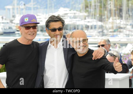 May 20th, 2019 - Cannes  Cast Members attend the DIEGO MARAONA photocall during the 72nd Cannes Film Festival 2019. - Stock Photo