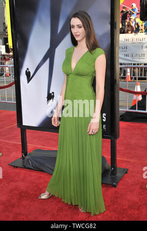 LOS ANGELES, CA. July 23, 2008: Madeline Zima at the world premiere of 'The X-Files: I Want To Believe' at Grauman's Chinese Theatre, Hollywood. © 2008 Paul Smith / Featureflash - Stock Photo