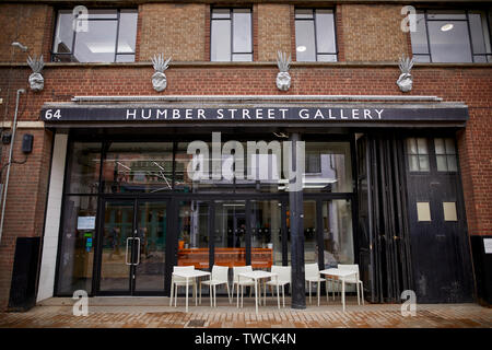 The Humber Street Gallery  in the city of Kingston upon Hull. The three-storey gallery was opened in February 2017 as part of that year's Hull UK City - Stock Photo