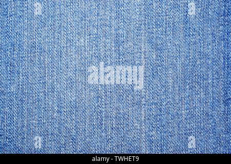 light blue denim jeans texture background, denim texture background. - Stock Photo