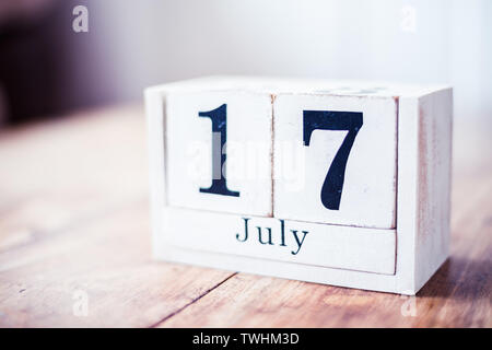 17th of July, 17 July - Slovakia Independence Day - Stock Photo