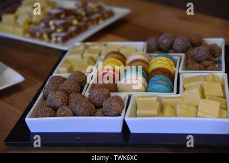 snack dessert, party food - Stock Photo