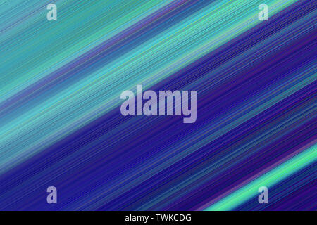 Colorful abstract bright lines background, diagonal striped texture in blue and cyan tones. Pattern for web-design, website, presentations, invitation - Stock Photo