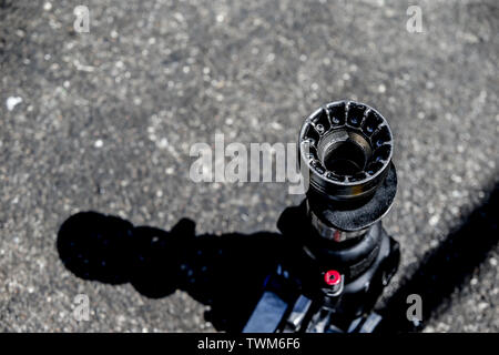 Marseille, France. 21st June 2019. Motorsports: FIA Formula One World Championship 2019, Grand Prix of France, Pit stop tools Credit: dpa picture alliance/Alamy Live News - Stock Photo