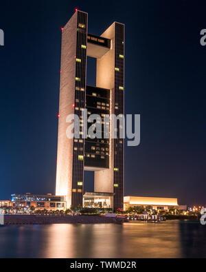 The Four Seasons Hotel Bahrain. - Stock Photo
