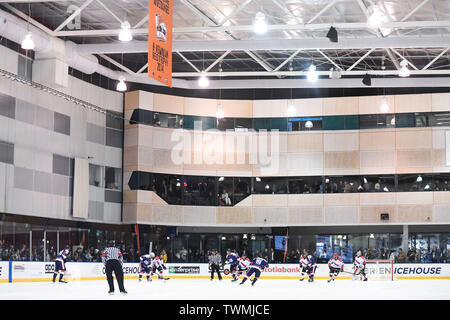 Melbourne, Victoria, Australia. 21st June 2019. 2019 Ice Hockey Classic, Canada versus USA; A general view of O'Brien Group Arena Credit: Action Plus Sports Images/Alamy Live News - Stock Photo