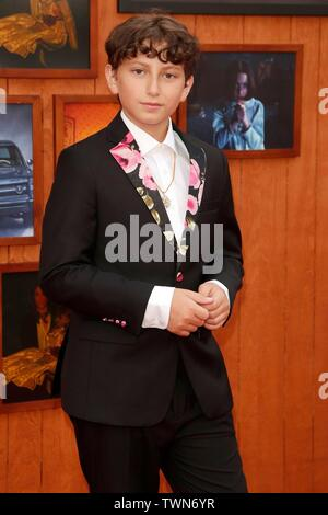 Los Angeles, CA, USA. 20th June, 2019. August Maturo at arrivals for ANNABELLE COMES HOME Premiere, Regency Village Theatre - Westwood, Los Angeles, CA June 20, 2019. Credit: Priscilla Grant/Everett Collection/Alamy Live News - Stock Photo