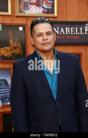 June 20, 2019 - Westwood, CA, USA - LOS ANGELES - JUN 20:  Raymond Cruz at the ''Annabelle Comes Home'' Premiere at the Village Theater on June 20, 2019 in Westwood, CA (Credit Image: © Kay Blake/ZUMA Wire) - Stock Photo