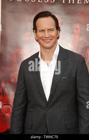 June 20, 2019 - Westwood, CA, USA - LOS ANGELES - JUN 20:  Patrick Wilson at the ''Annabelle Comes Home'' Premiere at the Village Theater on June 20, 2019 in Westwood, CA (Credit Image: © Kay Blake/ZUMA Wire) - Stock Photo