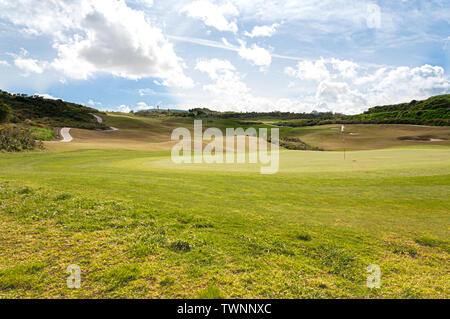 La Alcaidesa Golf and Links in the South of Spain - Stock Photo