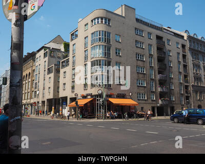 BERLIN, GERMANY - CIRCA JUNE 2019: View of the city - Stock Photo