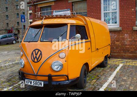 Volkswagen Camper Bus spotted in Bristol - Stock Photo