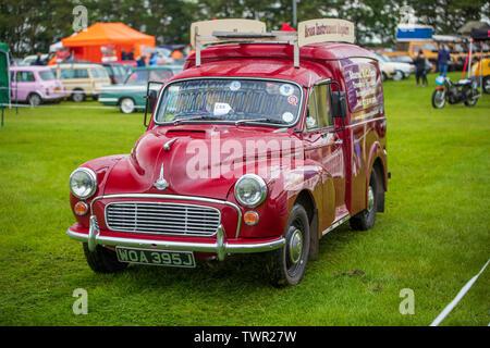 WOA 395J, Austin 8 CWT Van, 1970 at The Bath Festival of Motoring 2019 - Stock Photo
