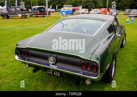 JJZ 626, Ford Mustang, 1967 at The Bath Festival of Motoring 2019 - Stock Photo