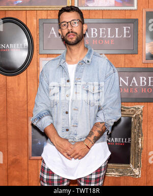 Westwood, CA - June 20, 2019: Gara arrives for the Premiere Of Warner Bros' 'Annabelle Comes Home' held at Regency Village Theatre - Stock Photo