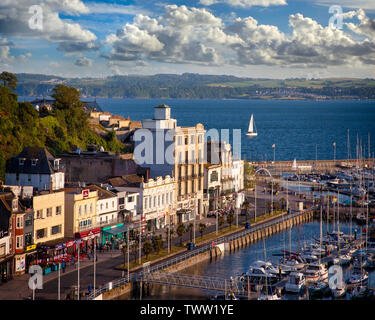 GB - DEVON: Harbour Point on Victoria Parade along Torquay's Inner Harbour. - Stock Photo