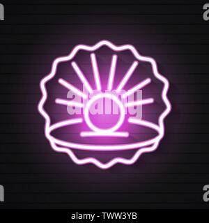 Finest Quality Beautiful Natural Open Pearl Shell Close Up Realistic Single Valuable Object Image Vector - Stock Photo