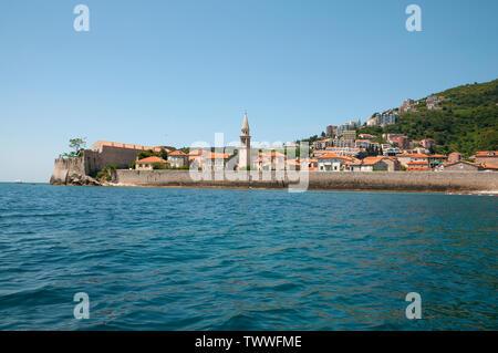 Budva old town Montenegro - Stock Photo