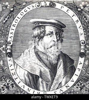 PETRUS APIANUS (1495-1552) German humanist and astronomer - Stock Photo