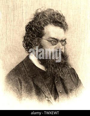 LUDWIG BOLTZMANN (1844-1906) Austrian physicist and philosopher - Stock Photo