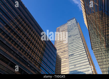 The tower of Tokyo Midtown building (an office, retail and residential complex in Roppongi)  Tokyo, Japan. Friday November 14th 2014 - Stock Photo