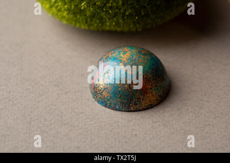 One modern colorful bonbons - Stock Photo