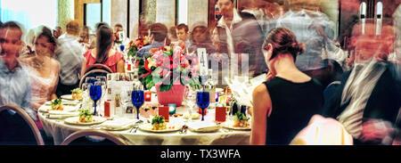 Wedding banquet - Stock Photo