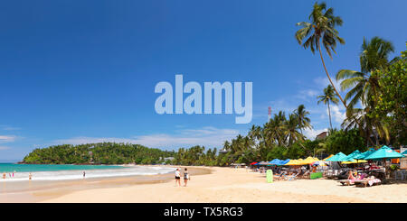 Mirissa beach, Southern Province, Sri Lanka - Stock Photo