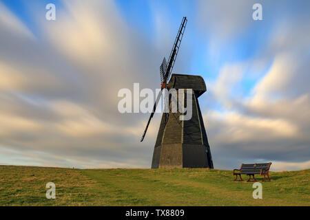 Rottingdean Windmill near Brighton in Sussex - Stock Photo