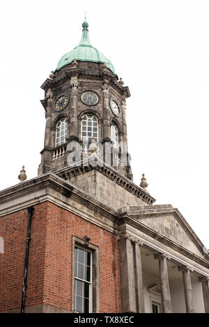 Bedford Clock Tower at Dublin Castle in Dublin, Ireland. - Stock Photo