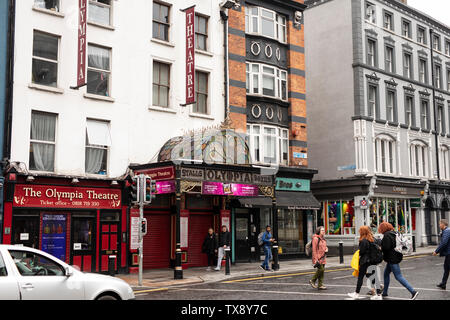 The Olympia Theatre on Dame Street in Dublin, Ireland. - Stock Photo
