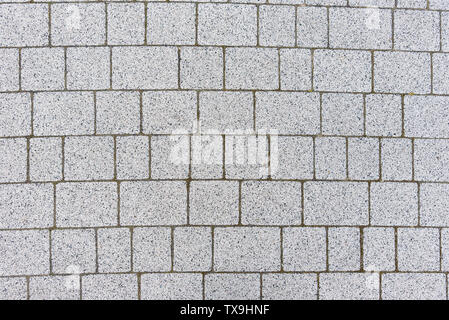 Gray sett bricks - texture or background, pavement. - Stock Photo