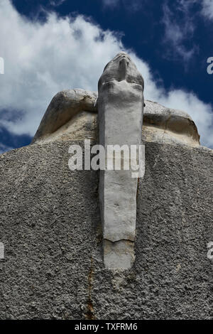 Environmentally significant, Monumento da Biosfera, Santana, Madeira, Portugal, European Union - Stock Photo